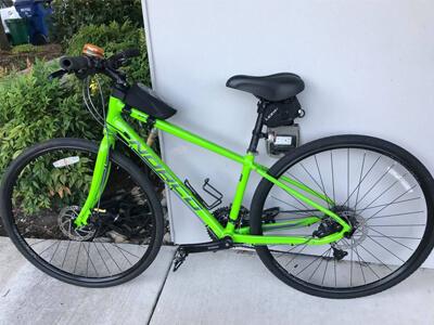 Dr Hewett's Bike