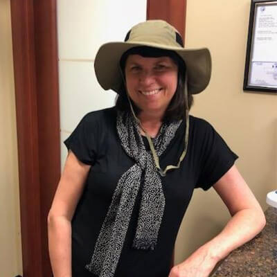 Safari Hat Winner - Mary Wooley