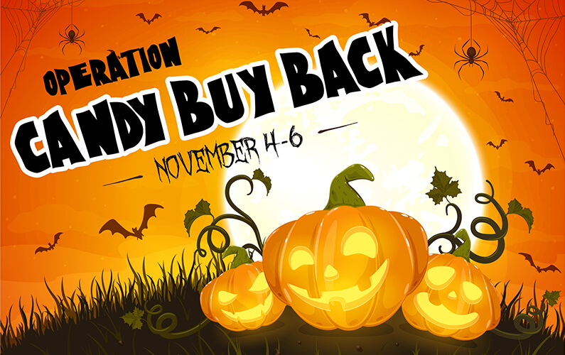 Operation Gratitude Halloween Buy-Back Campaign Underway at Soundview Family Dental in Edmonds, WA