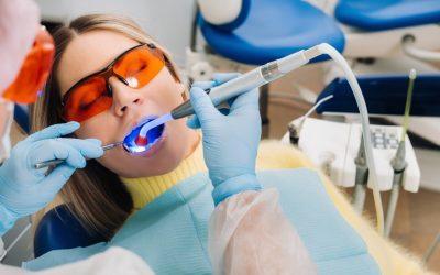Effectiveness of Blue Light Teeth Whitening
