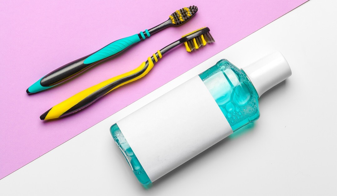 Good oral hygiene to prevent bad breath
